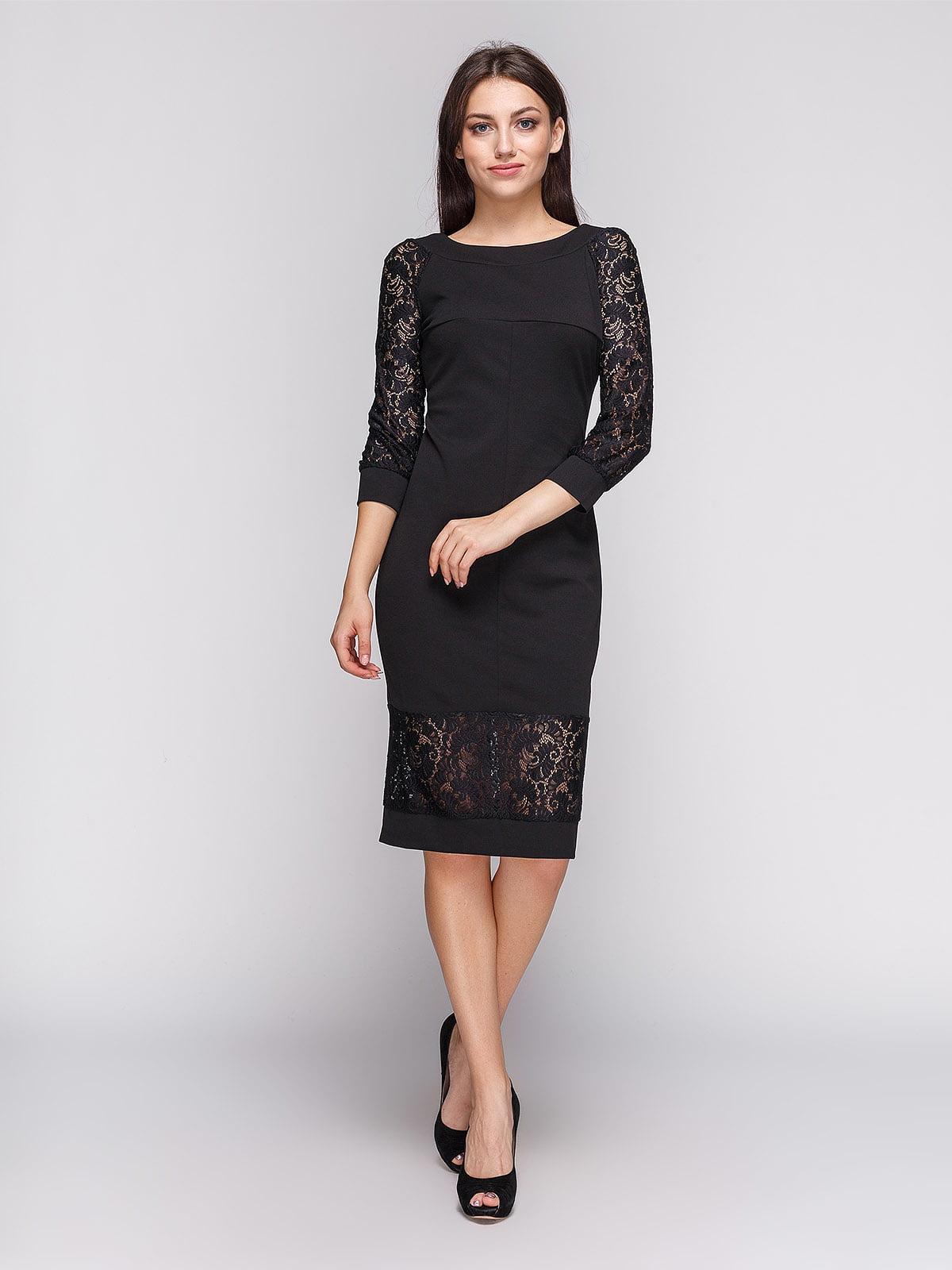Платье черное | 3813885 | фото 2