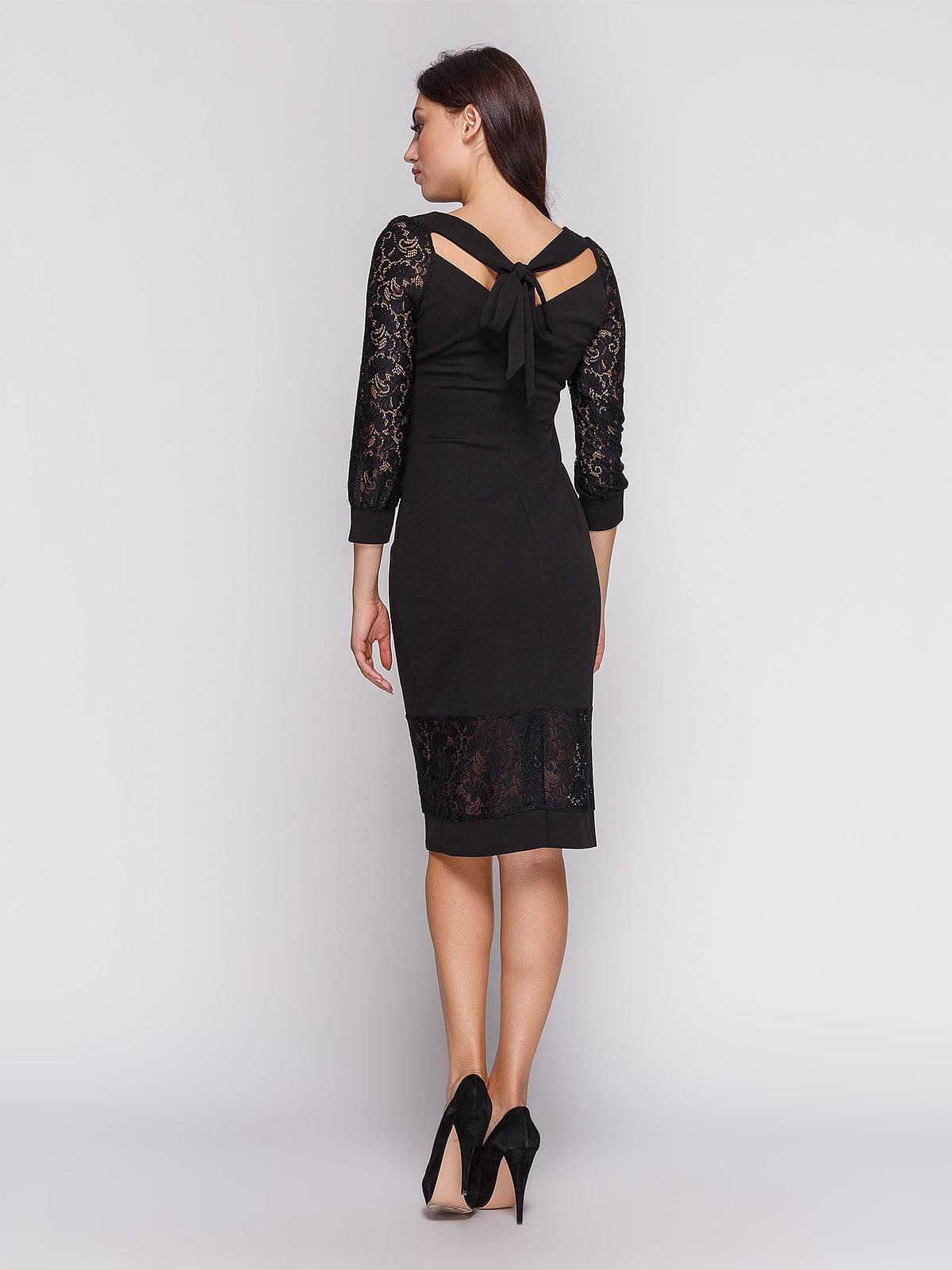 Платье черное | 3813885 | фото 3