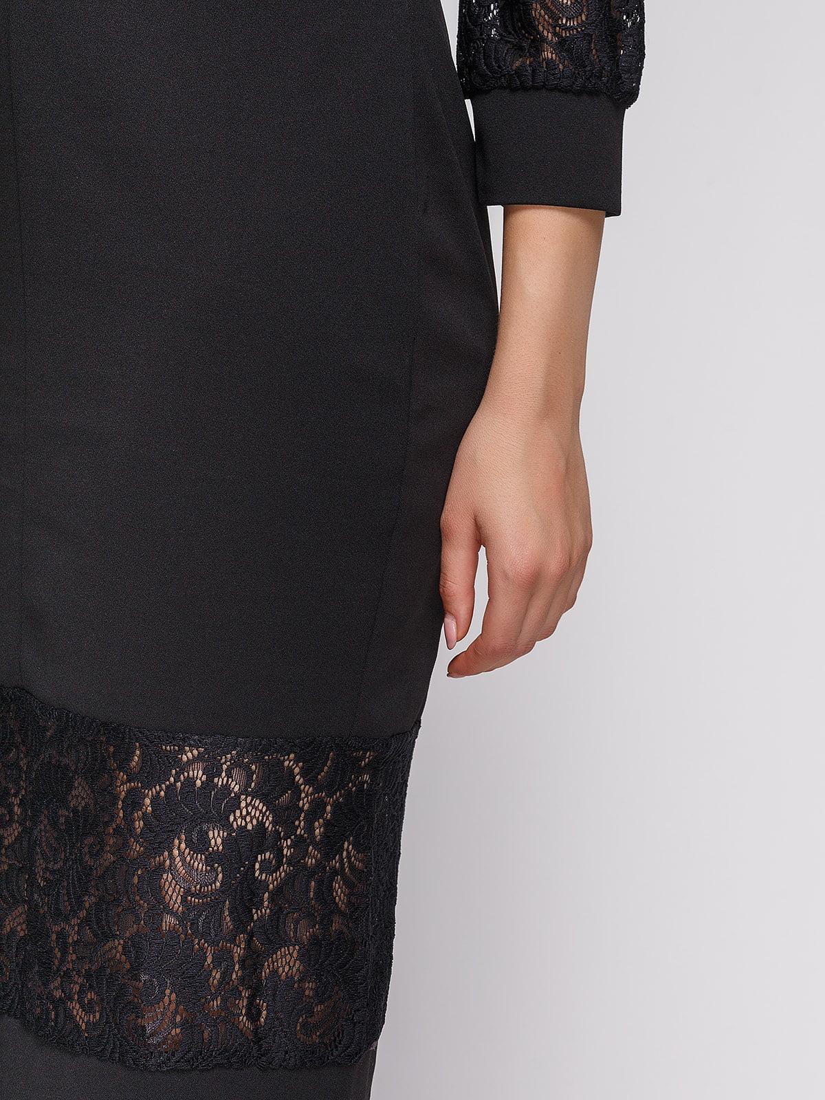 Платье черное | 3813885 | фото 4