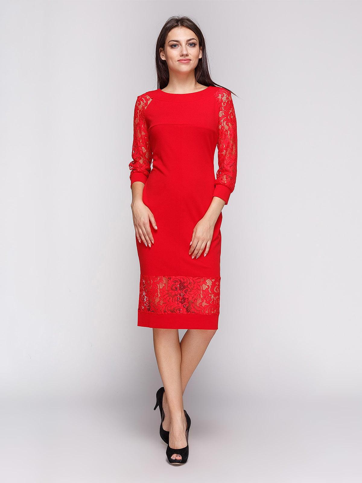 Платье красное | 3863231 | фото 2