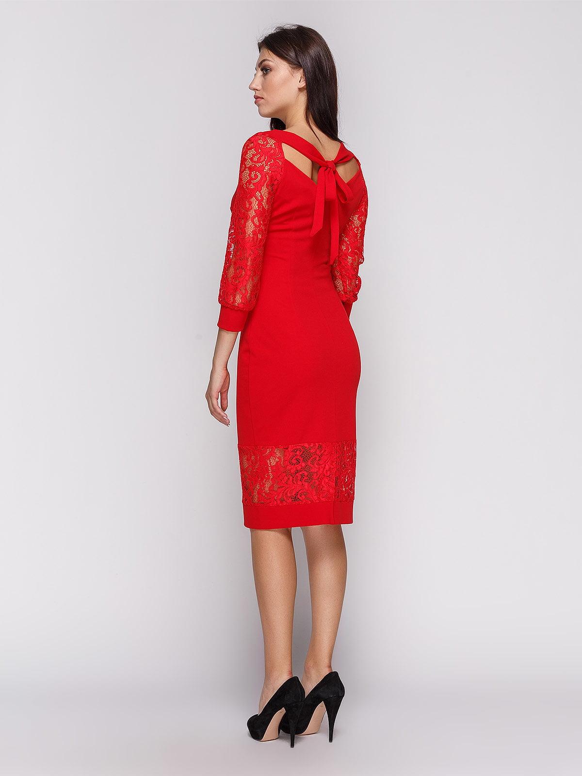 Платье красное | 3863231 | фото 3
