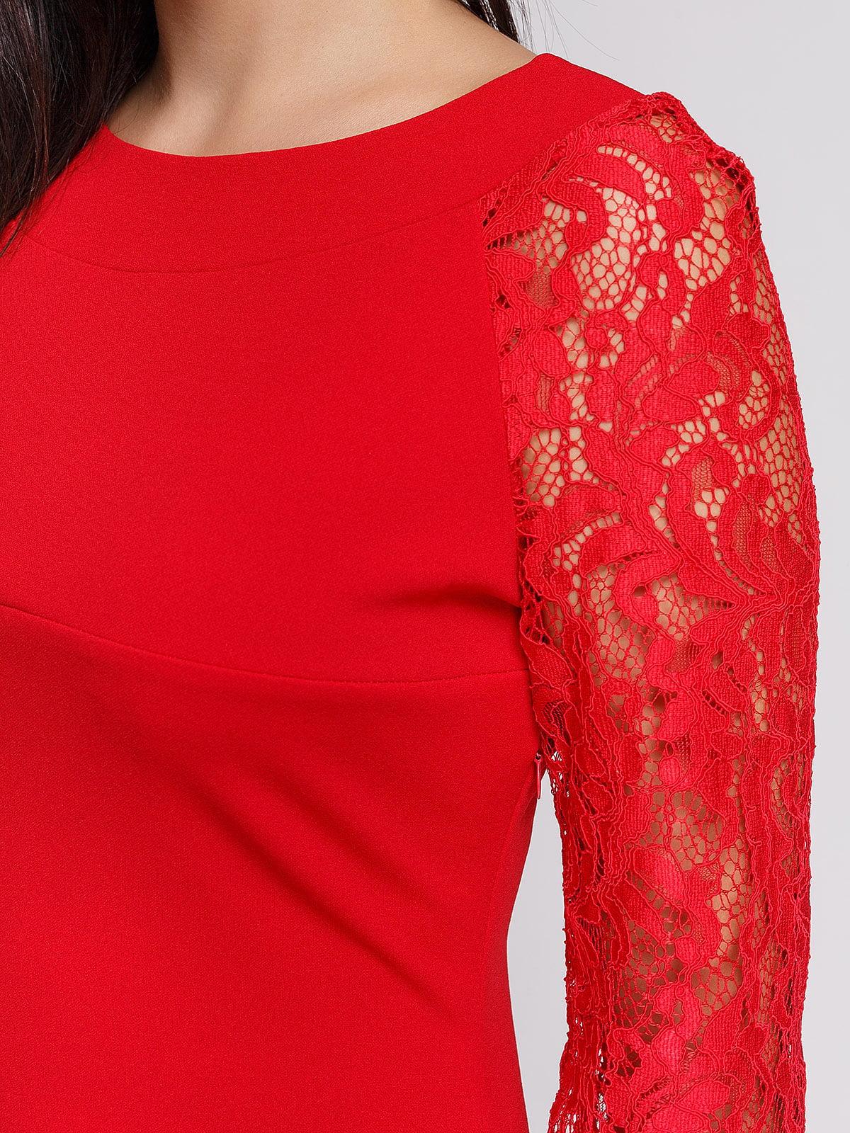 Платье красное | 3863231 | фото 4