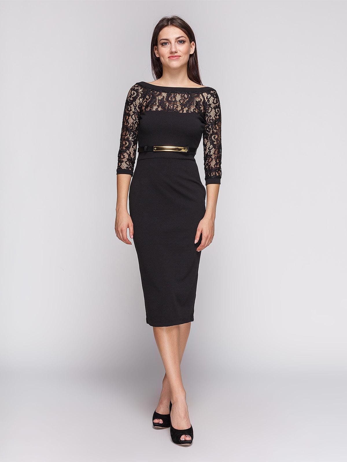 Платье черное | 3851931
