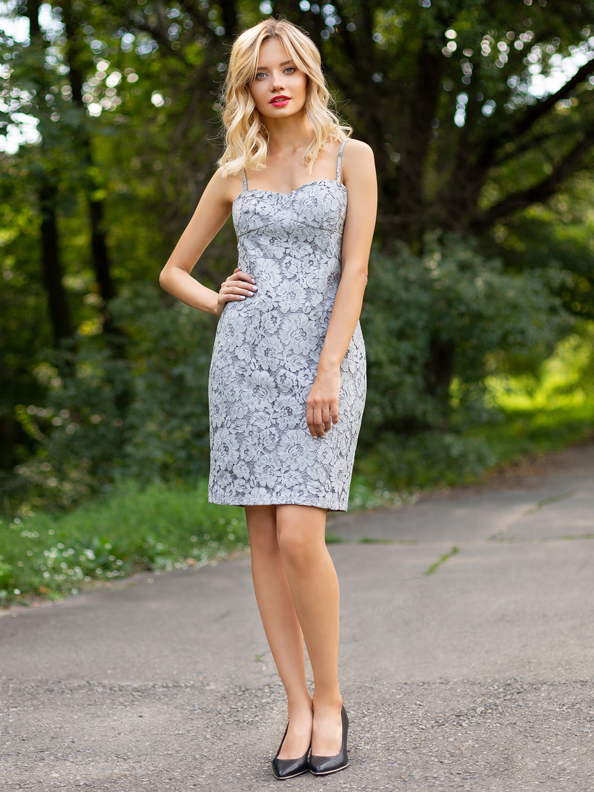 Платье серое | 3255726