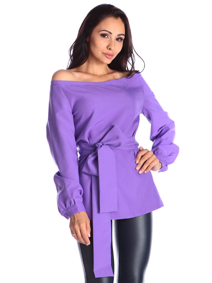 Блуза світло-фіалкова   4563320