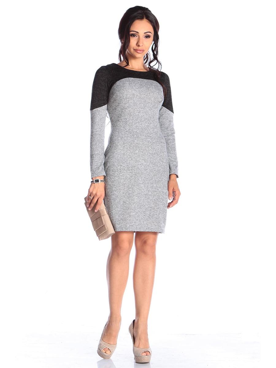 Платье серое | 4579681
