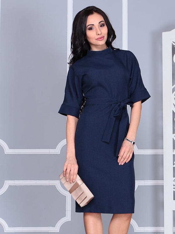 Платье темно-синее | 4579741 | фото 3
