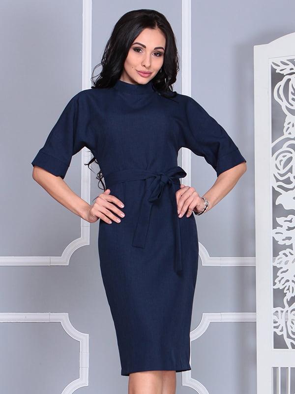 Платье темно-синее | 4579741 | фото 4