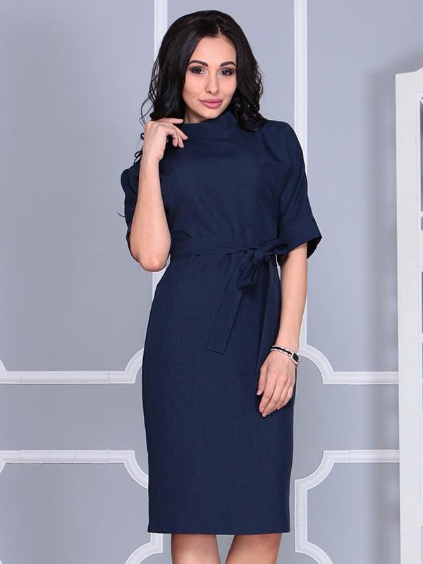 Платье темно-синее | 4579741 | фото 5
