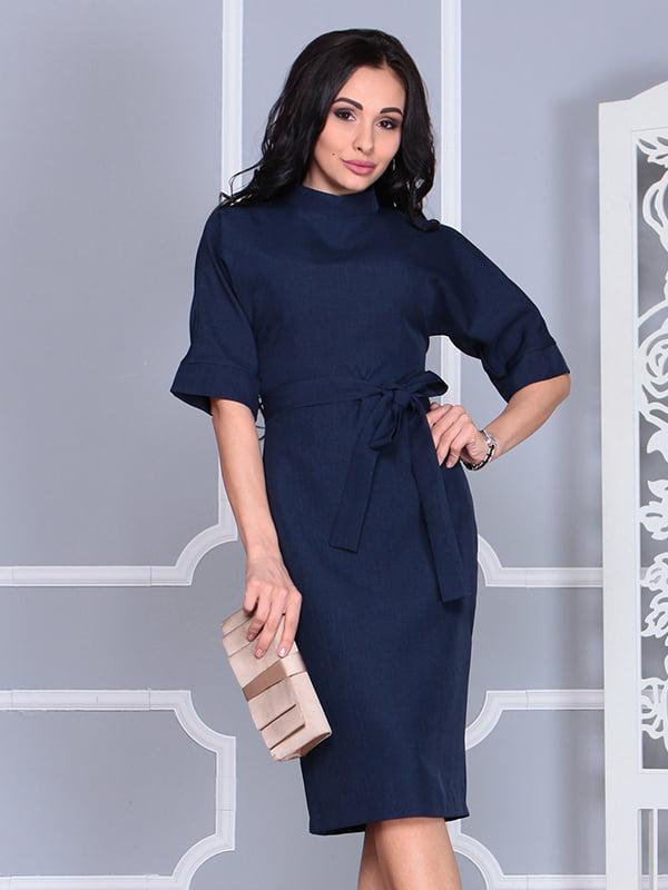 Платье темно-синее | 4579741
