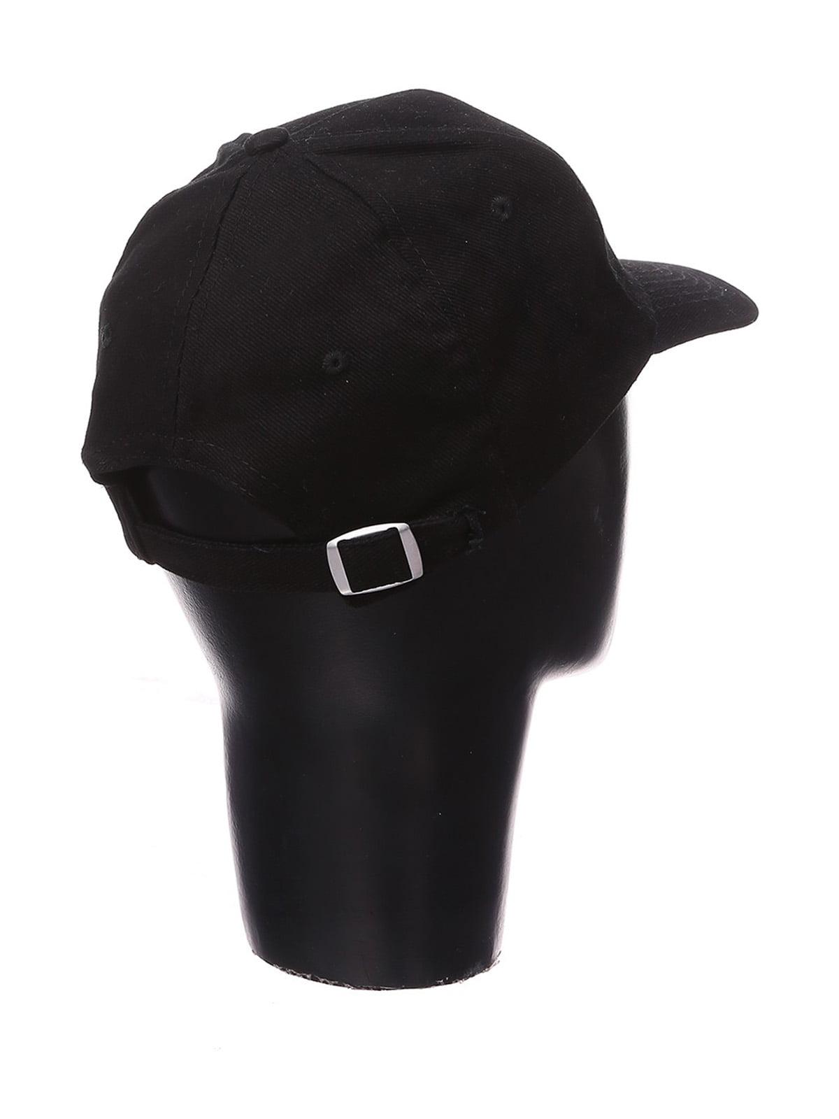 Кепка черная с надписью | 4578898 | фото 2
