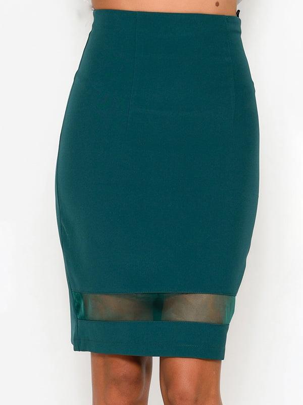 Юбка темно-зеленая | 4534020