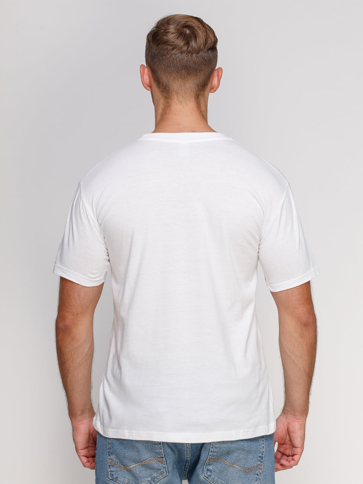 Футболка біла з принтом | 4577851 | фото 2
