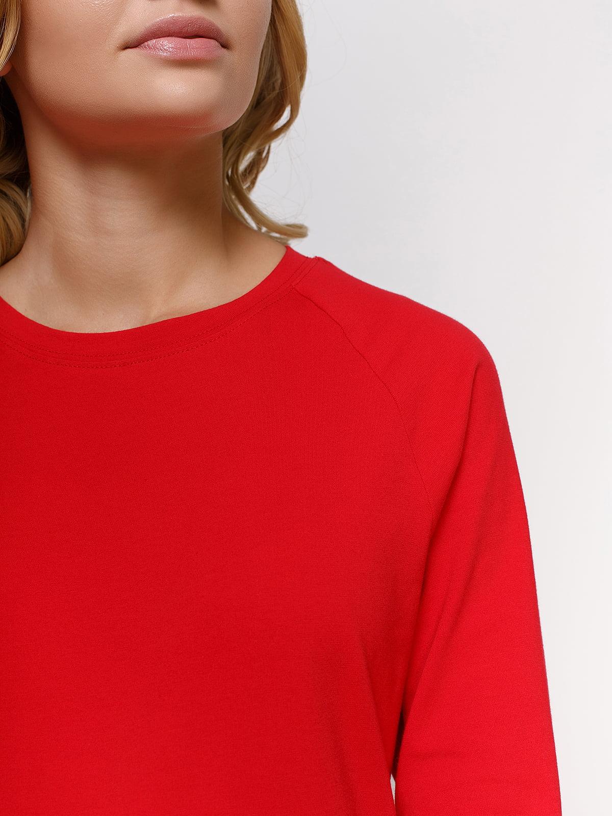 Лонгслів червоний | 4577820 | фото 3