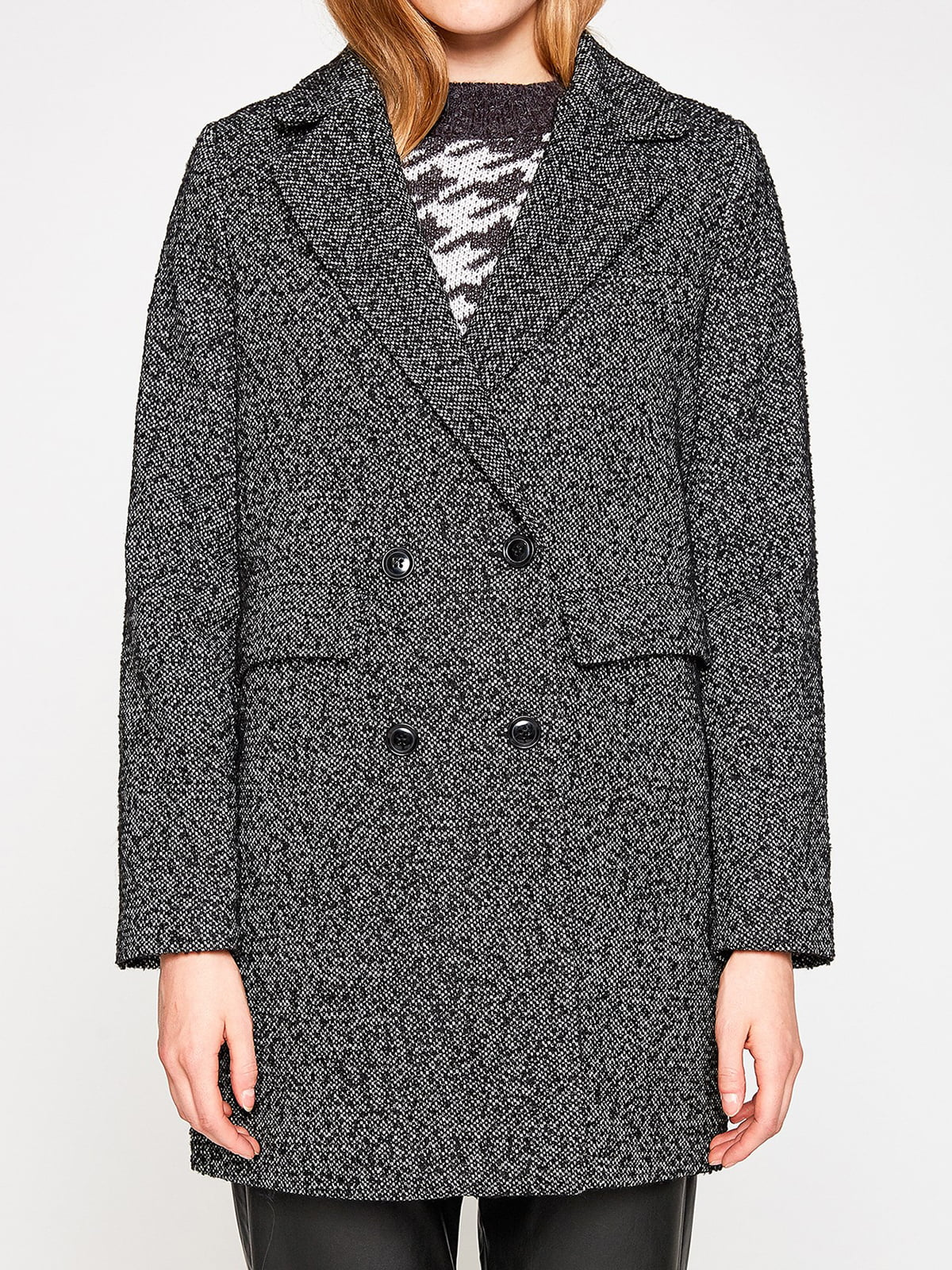 Пальто черное | 4583418 | фото 4