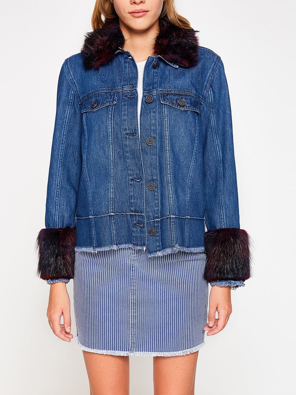 Куртка синяя | 4583889 | фото 3