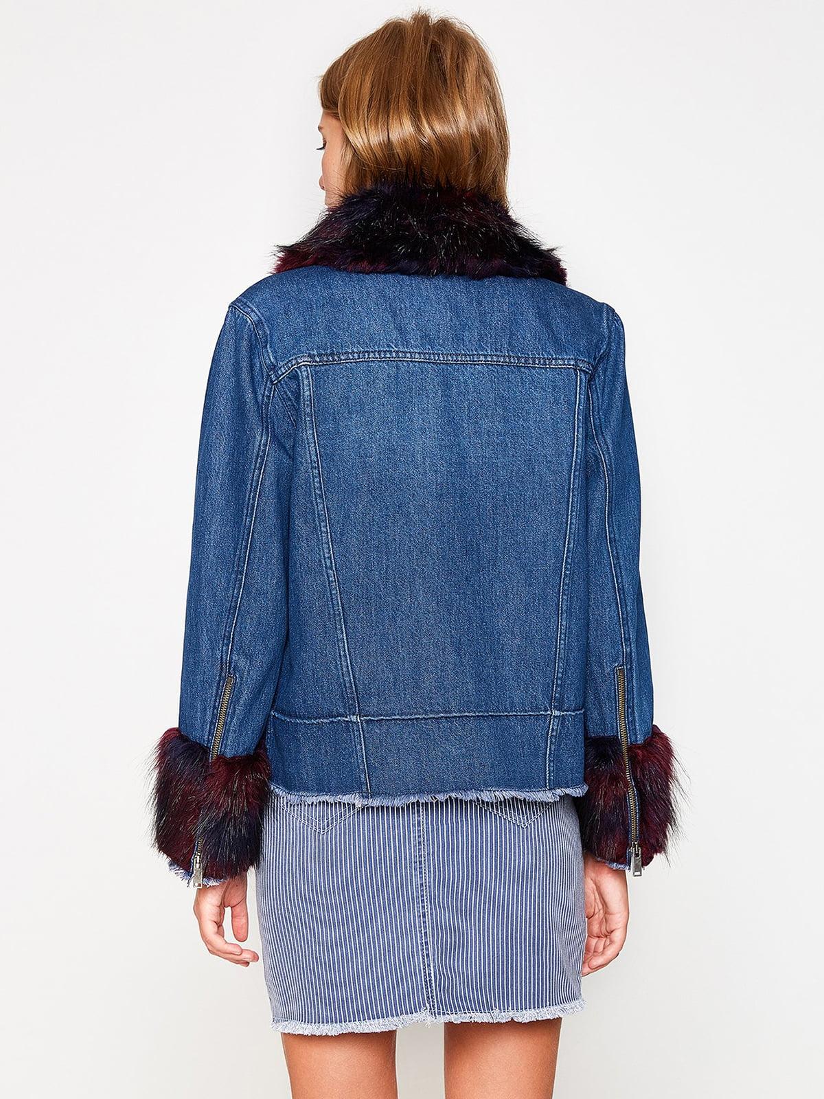 Куртка синяя | 4583889 | фото 4