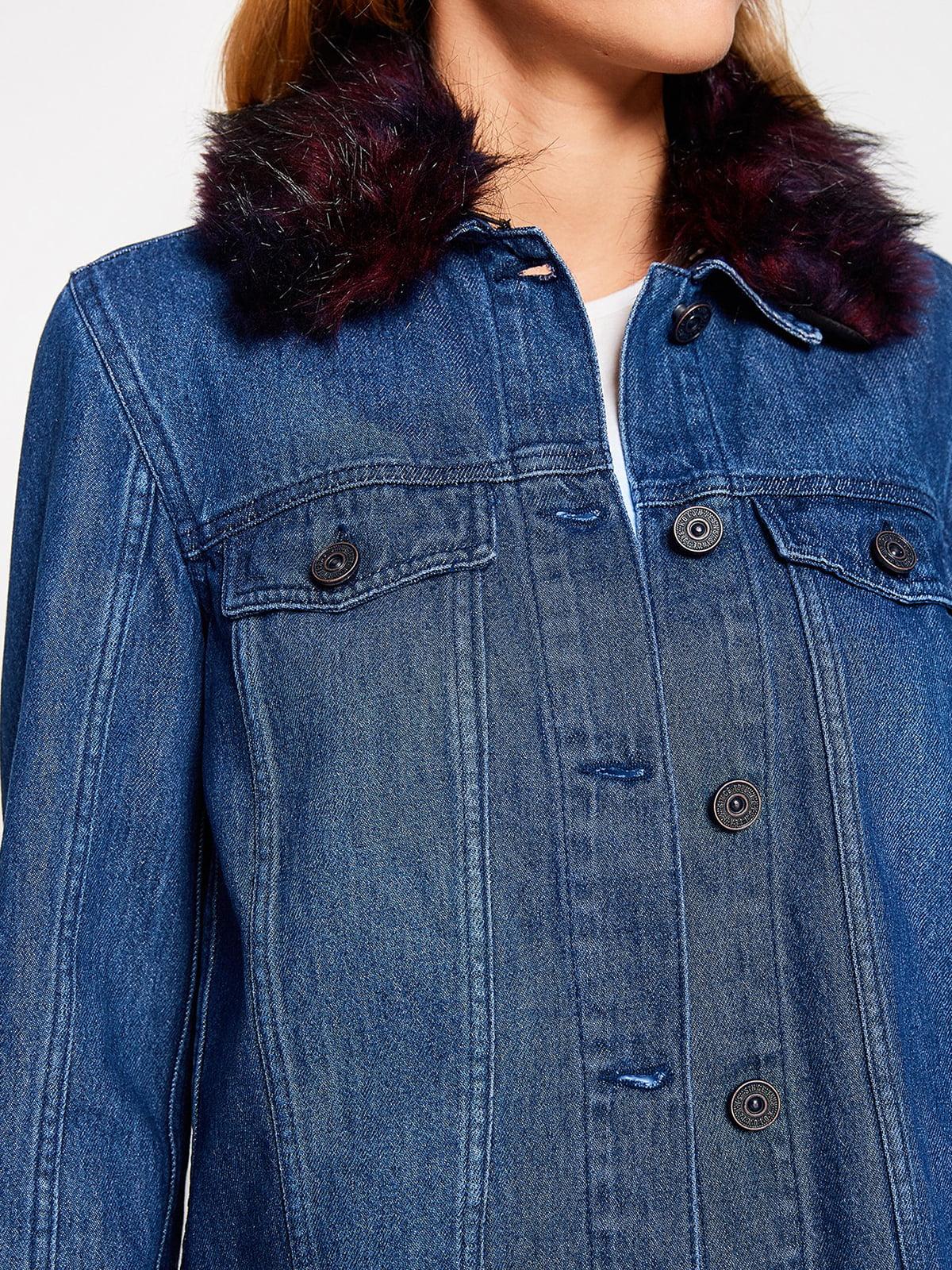 Куртка синяя | 4583889 | фото 5