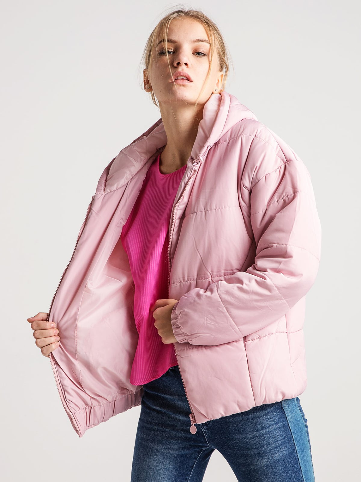 Куртка розовая | 4584276 | фото 2