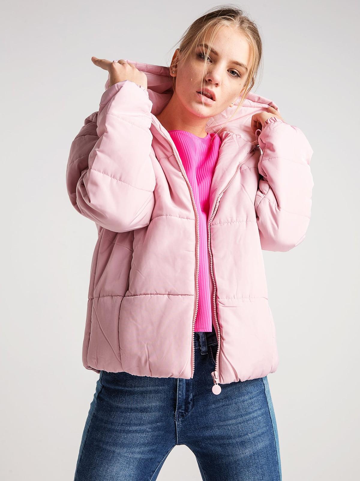 Куртка розовая | 4584276 | фото 3