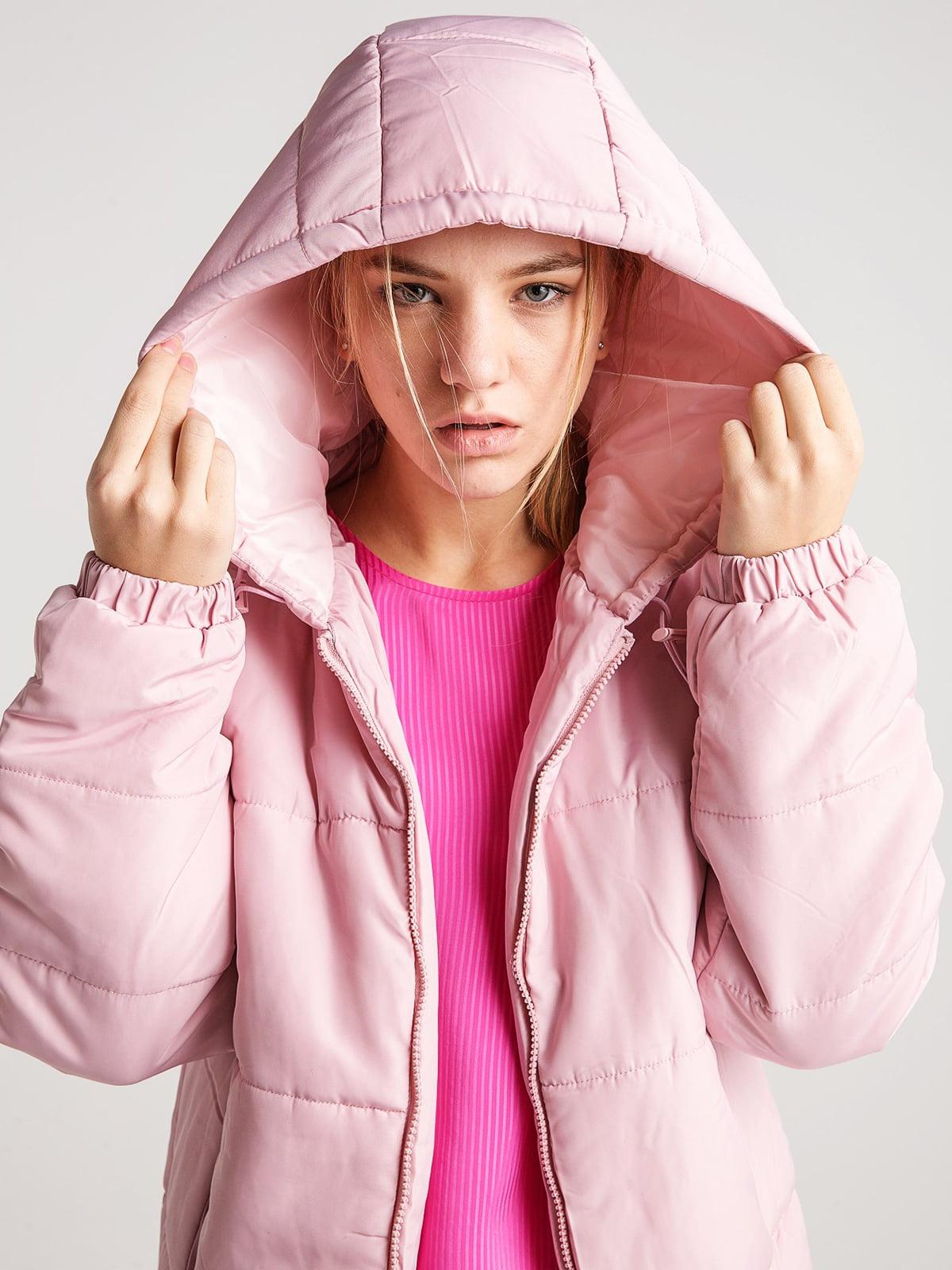 Куртка розовая | 4584276 | фото 4