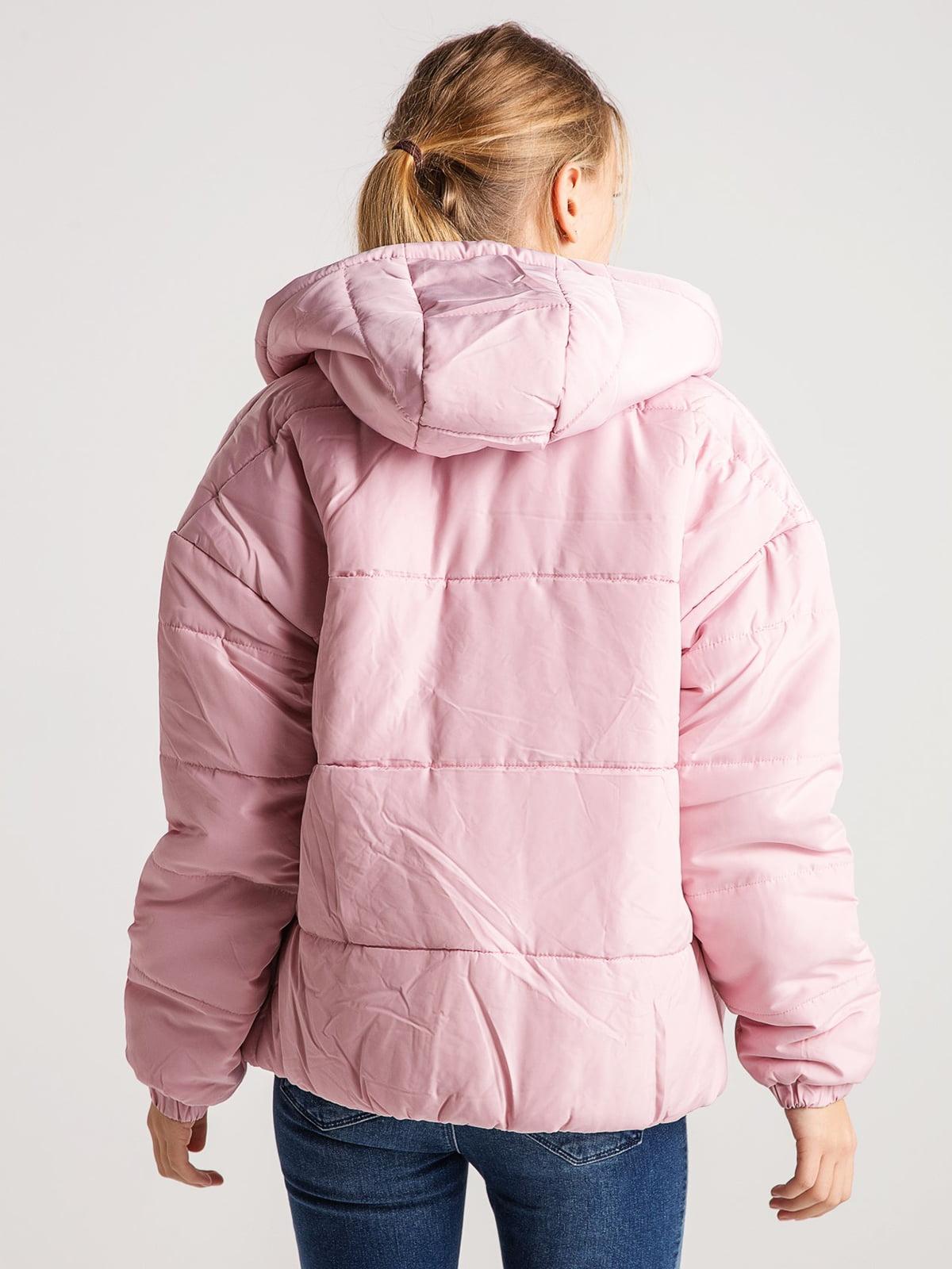 Куртка розовая | 4584276 | фото 5