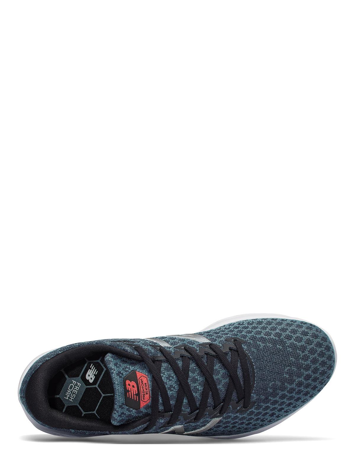 Кросівки сіро-сині Fresh Foam Beacon | 4579051 | фото 3