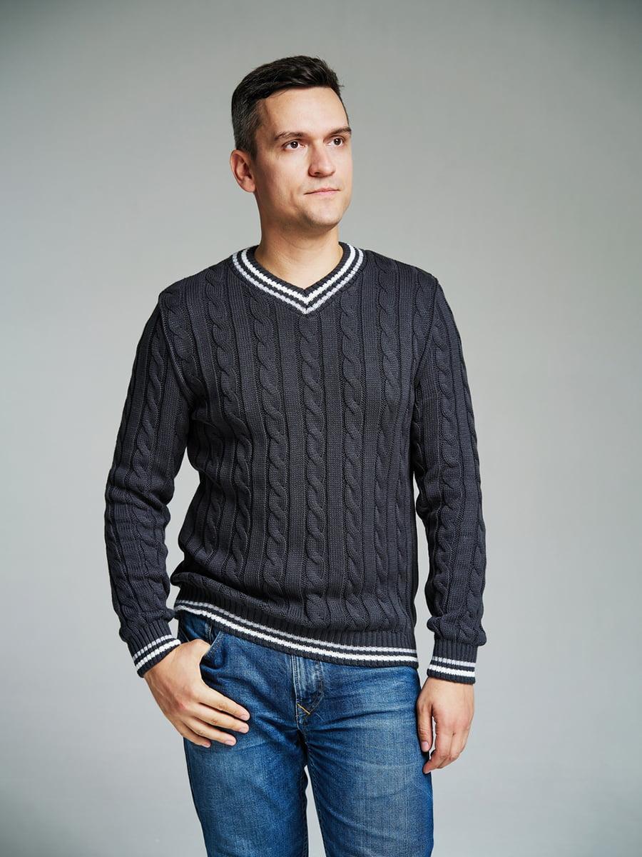 Пуловер сірий | 4585869 | фото 2