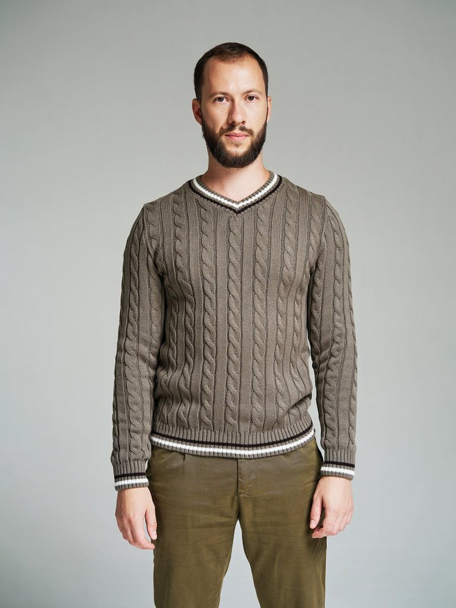 Пуловер кольору капучино | 4585871 | фото 2