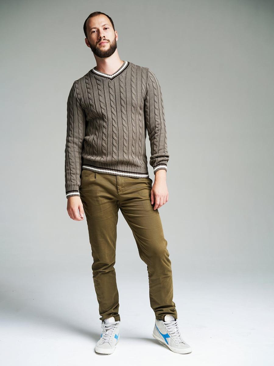 Пуловер кольору капучино | 4585871 | фото 3