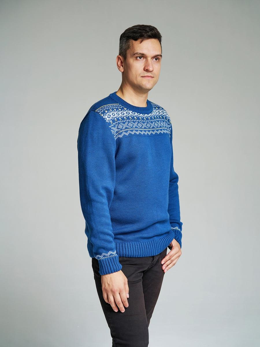 Джемпер синій | 4585874