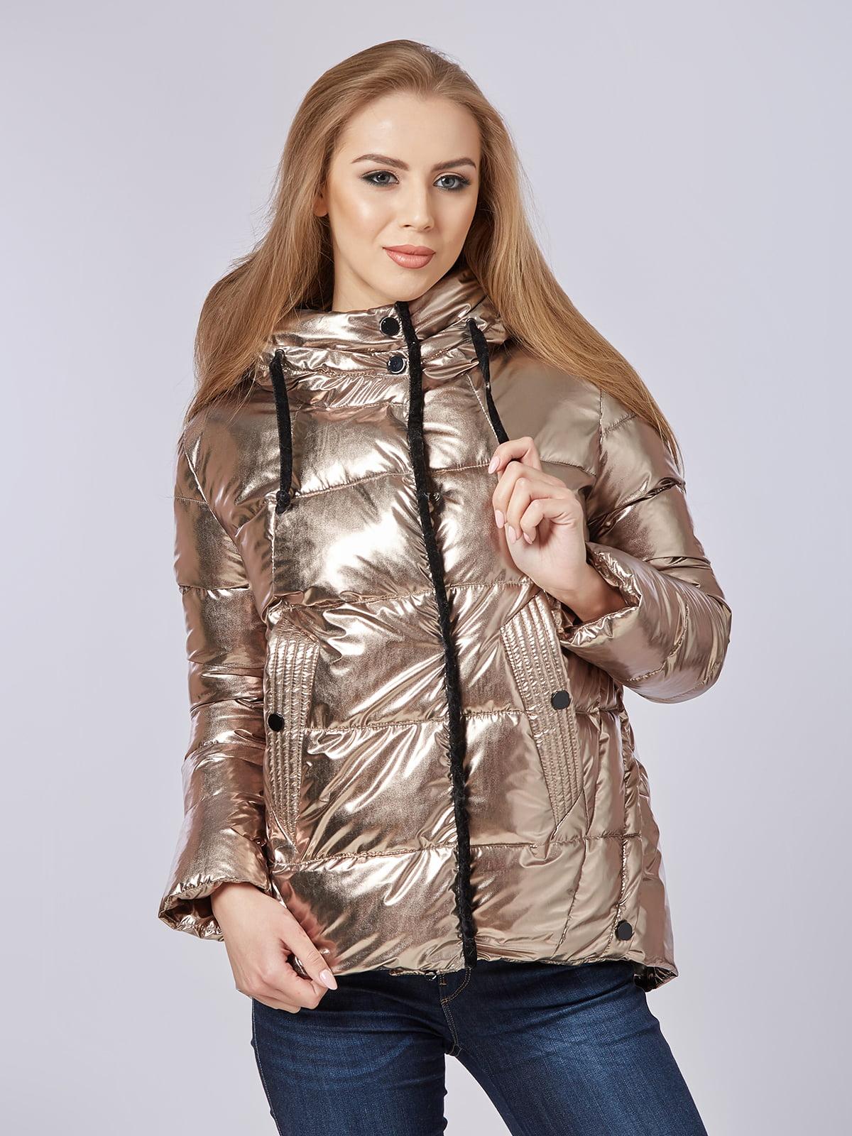 Куртка золотистая | 4587969