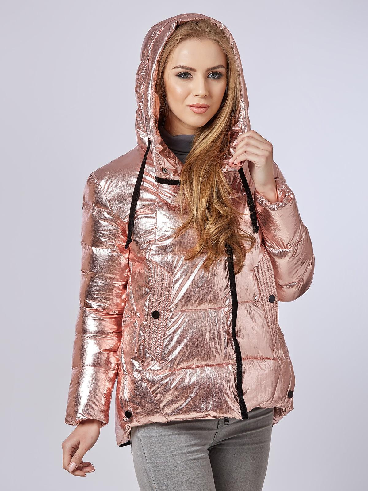 Куртка рожева | 4587970 | фото 2