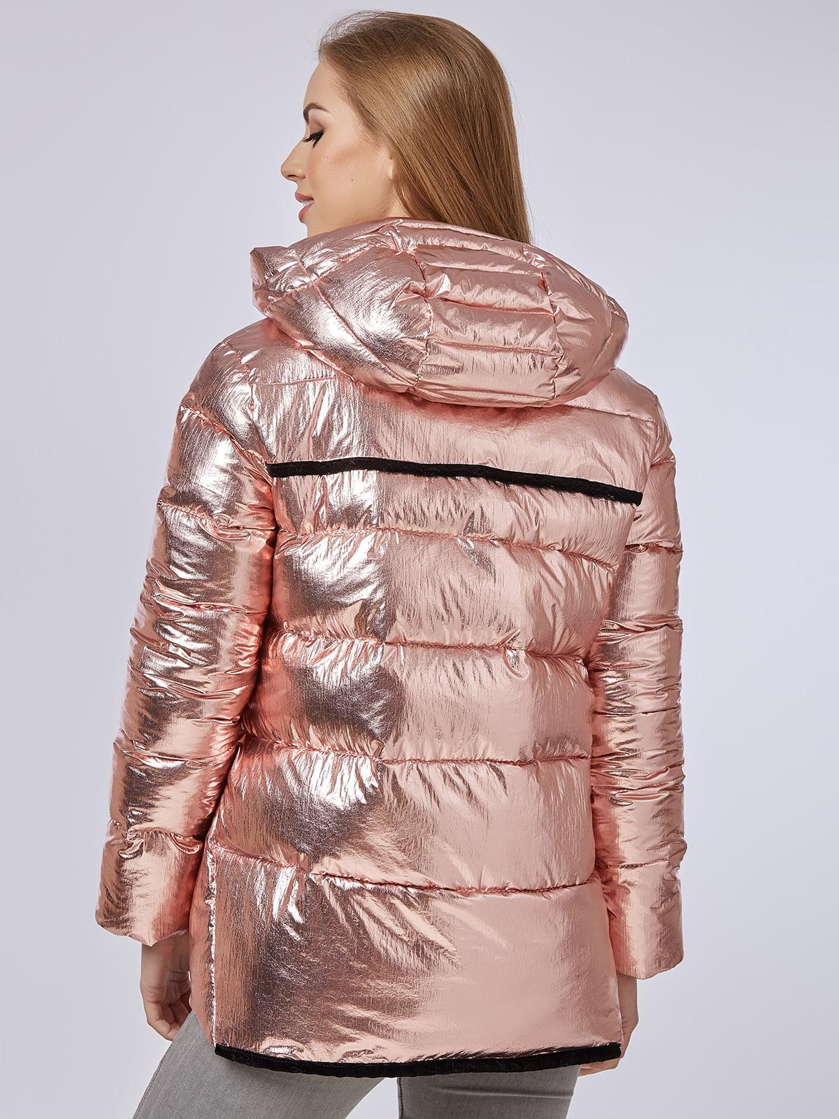 Куртка розовая | 4587970 | фото 3