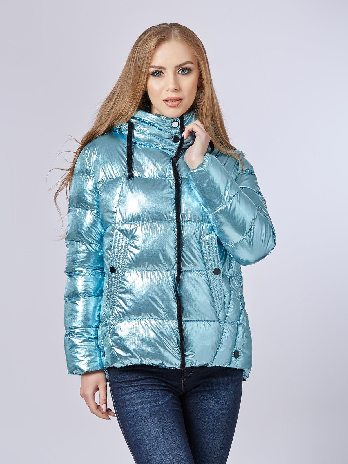Куртка блакитна | 4587971