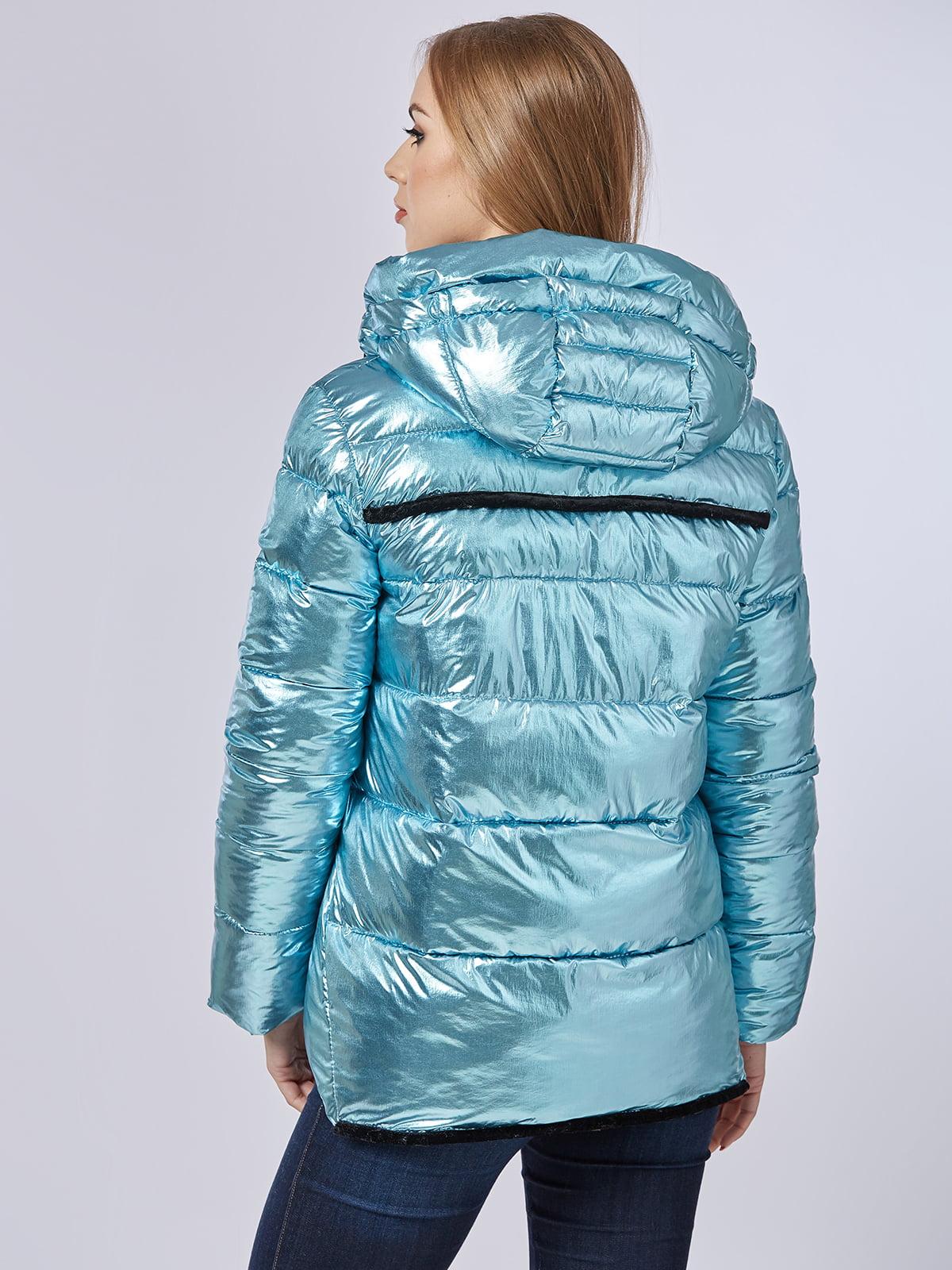 Куртка блакитна | 4587971 | фото 2
