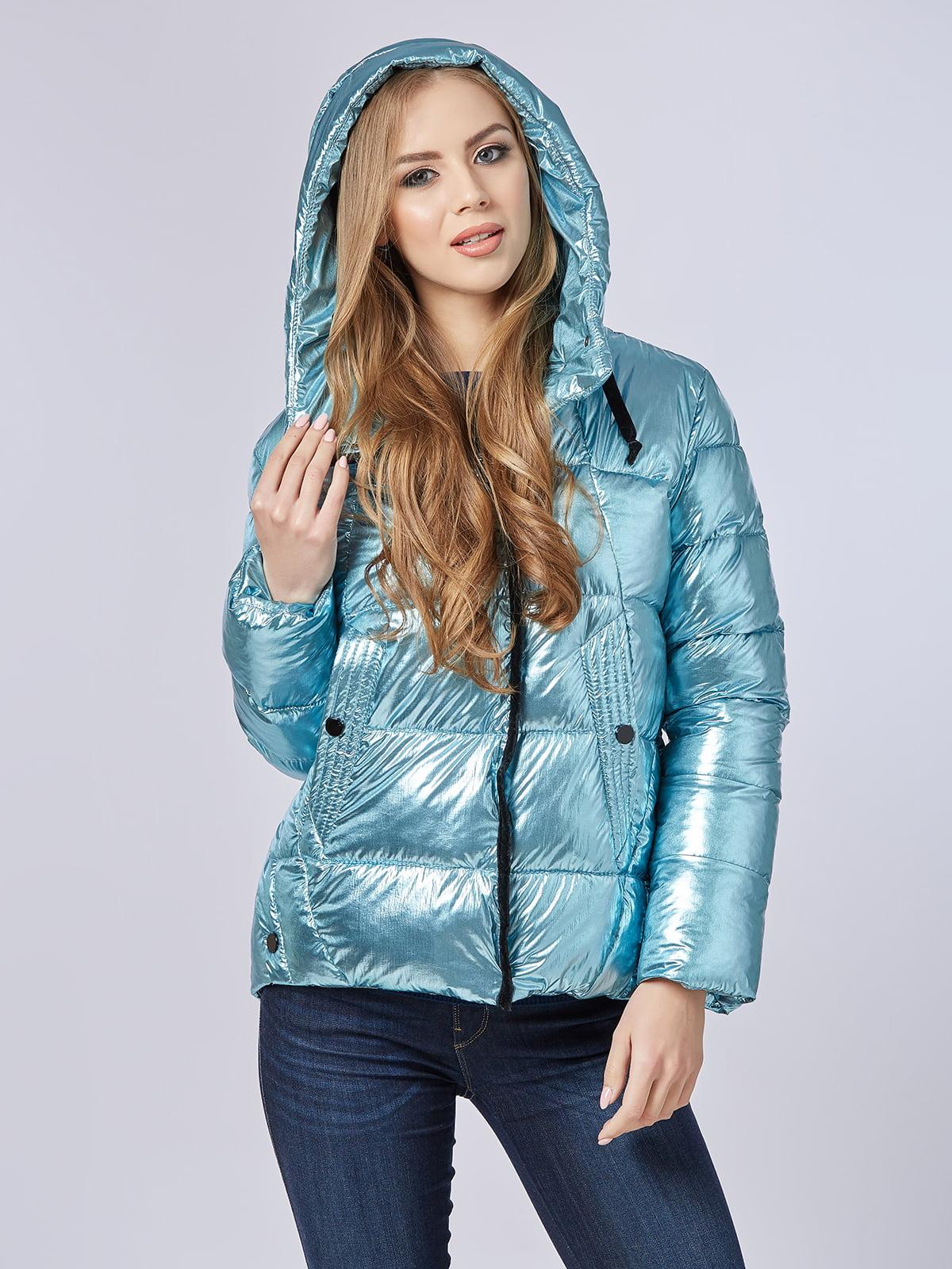 Куртка блакитна | 4587971 | фото 3