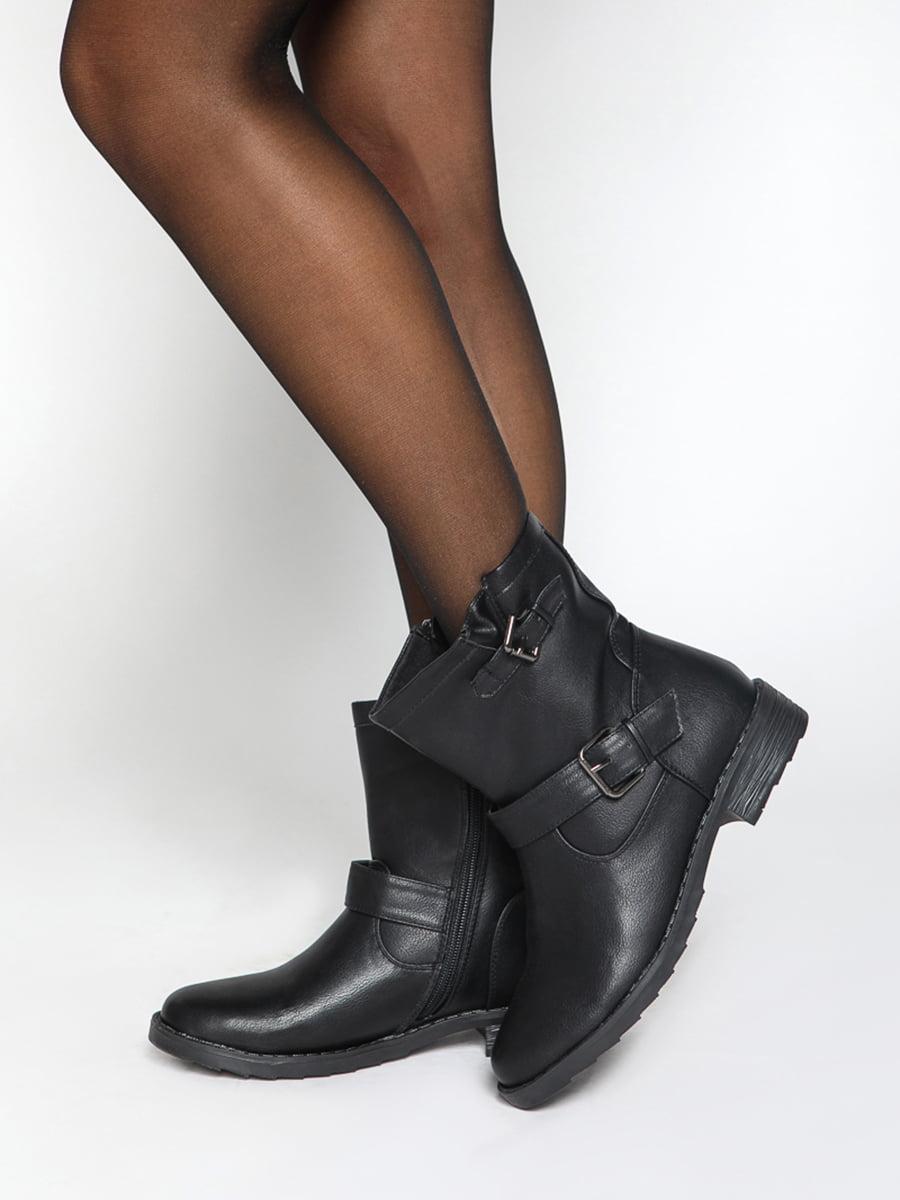 Ботинки черные   4587723