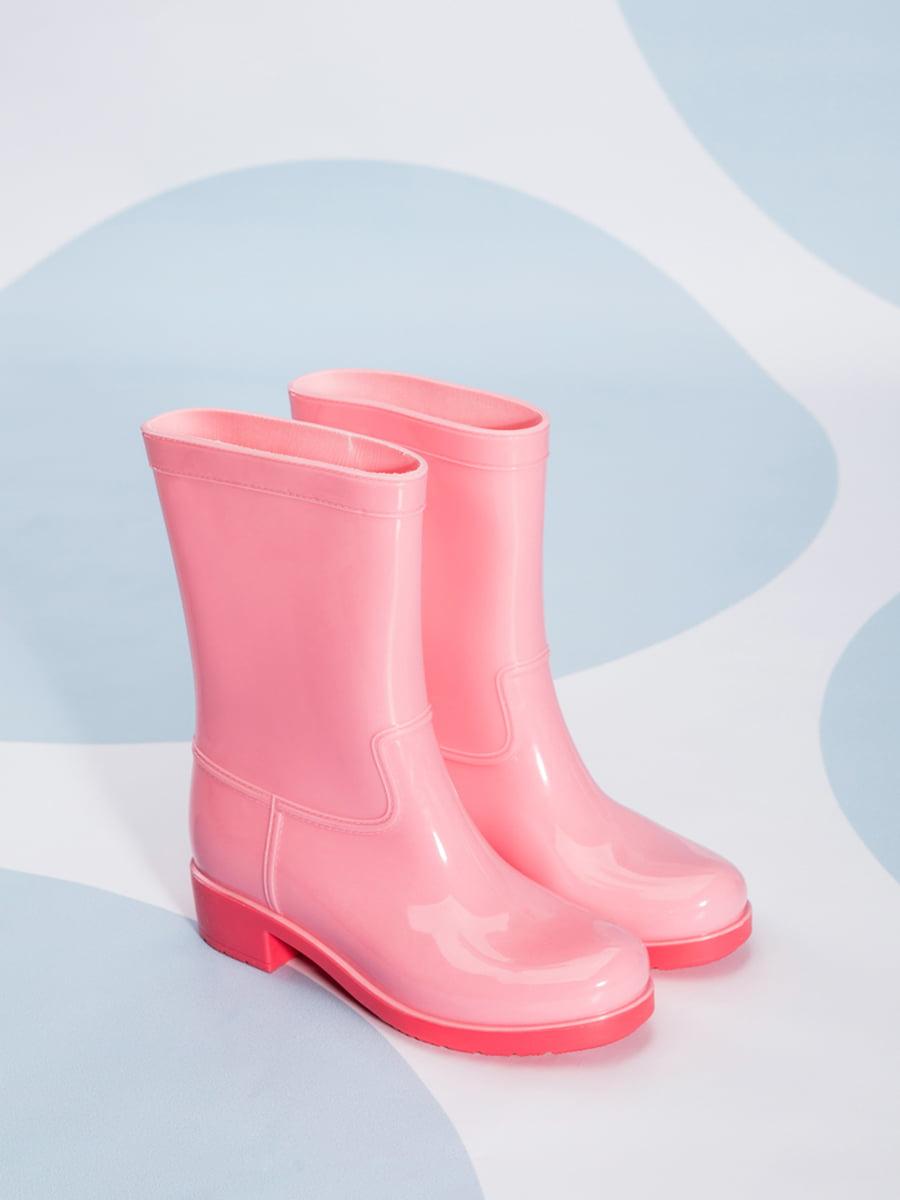Сапоги резиновые розовые | 4587730 | фото 2