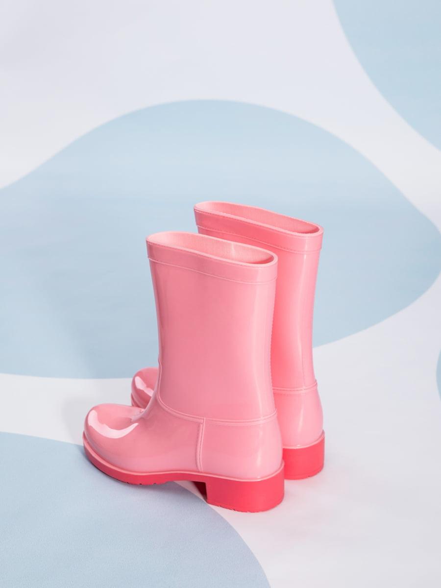 Сапоги резиновые розовые | 4587730 | фото 3