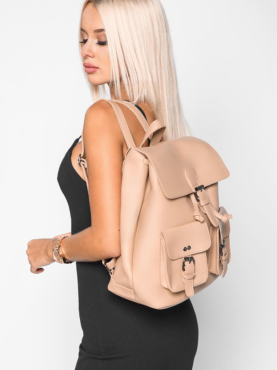 Рюкзак бежевый | 4587781