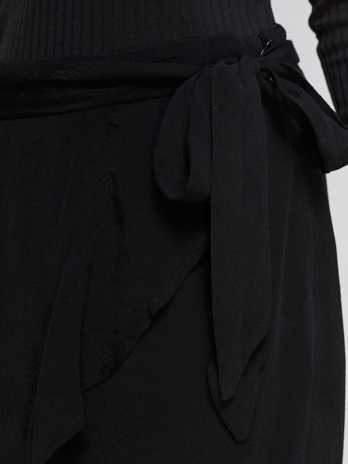 Юбка черная | 4556007 | фото 4
