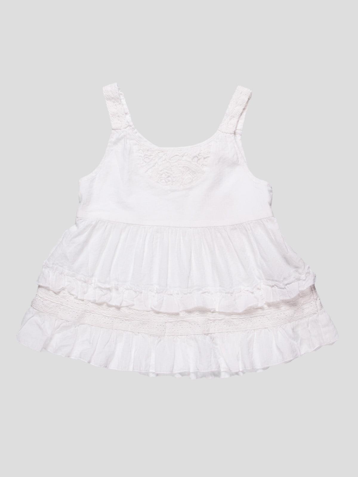 Платье белое | 4530552