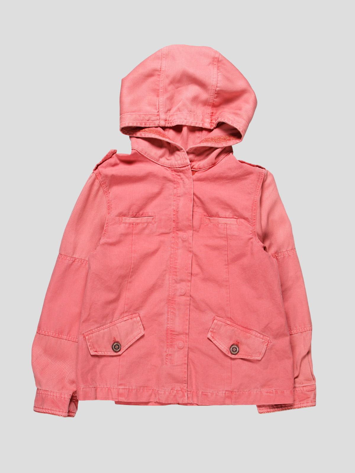 Куртка рожева | 4507704