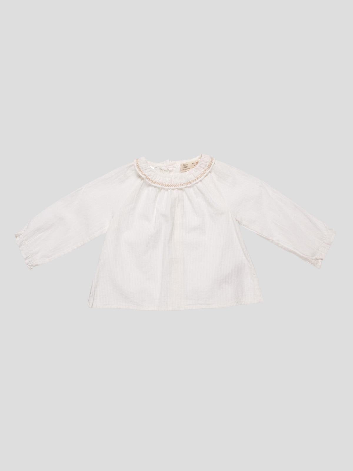 Блуза молочного цвета | 4520377