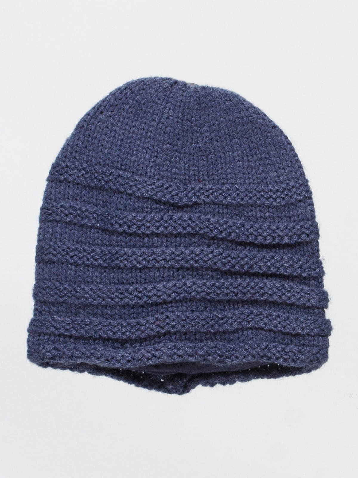 Шапка темно-синя   4533884