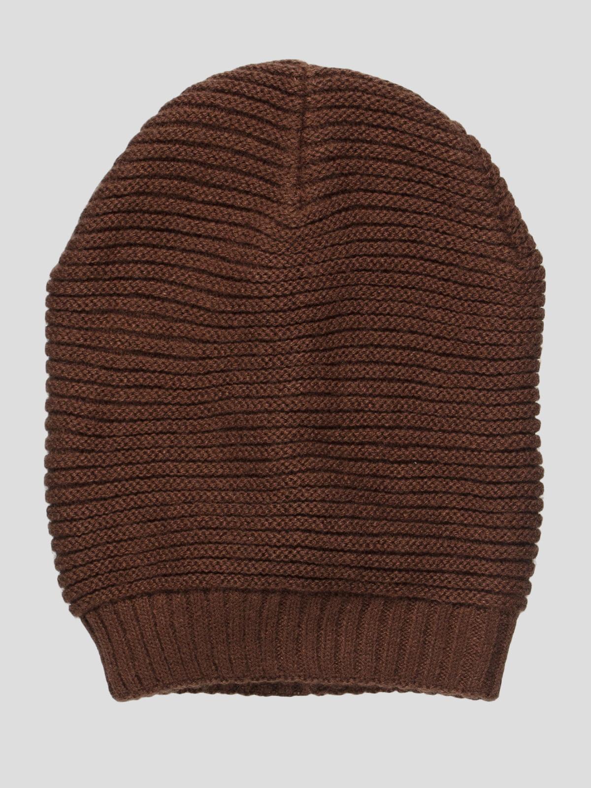 Шапка коричневая | 4533937