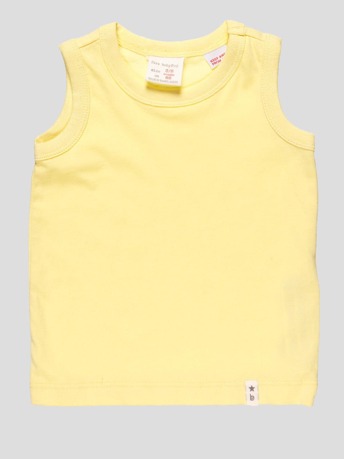 Майка жовта | 4506567
