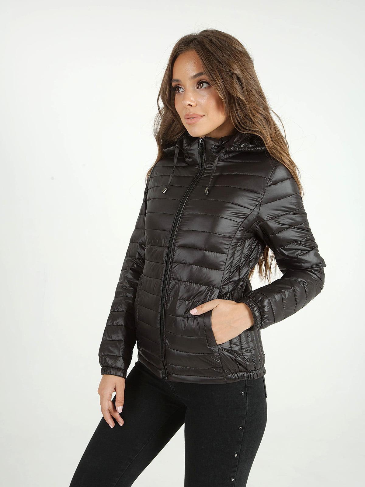 Куртка черная | 4588206 | фото 2