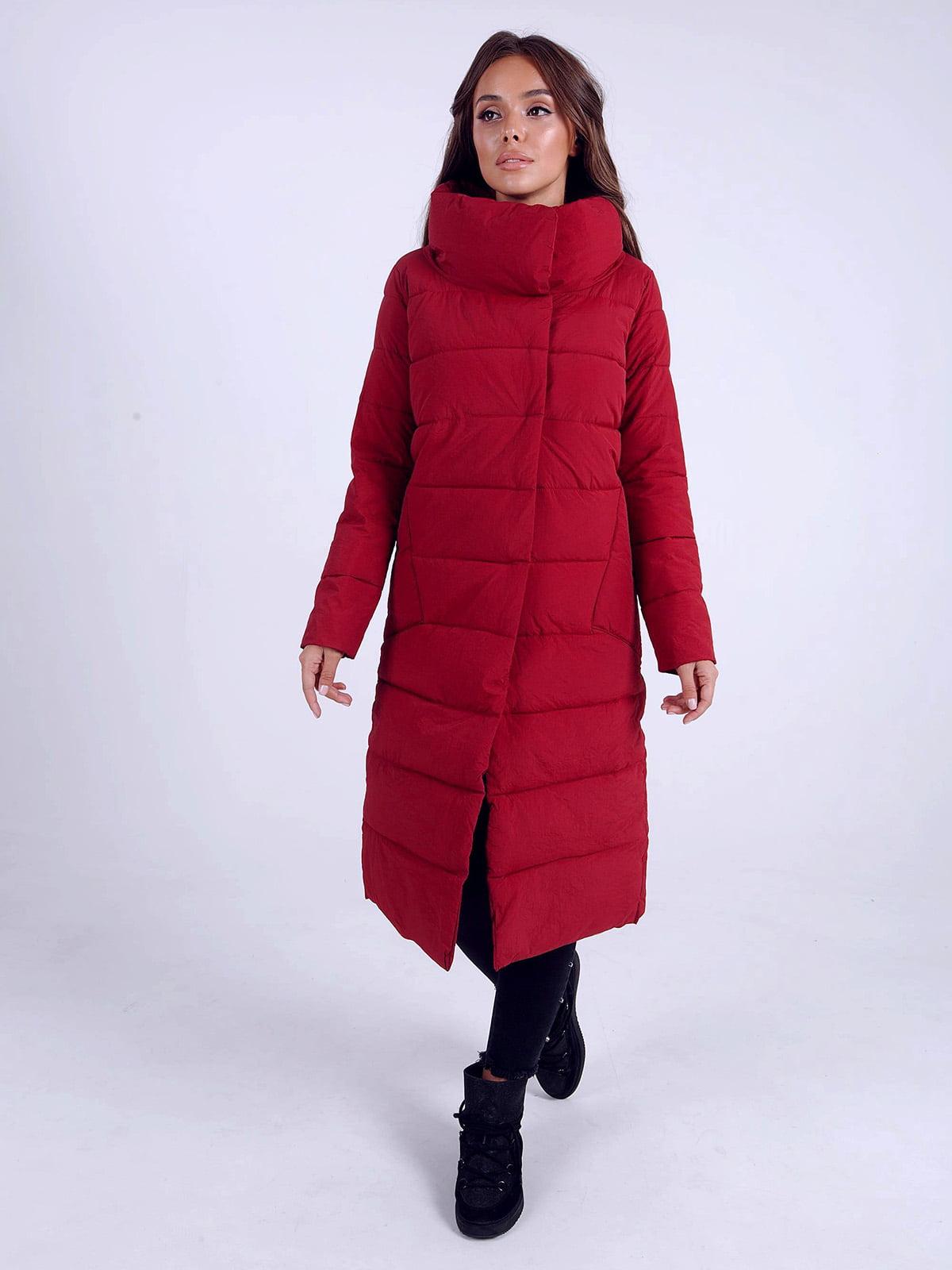 Куртка бордова | 4588272